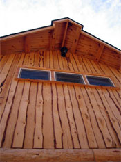 Akerwoods Log Siding