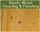Rustic Wood Flooring & Paneling in Eastern Redcedar, Black Hills Spruce and Ponderosa Pine, Aspen and Birch
