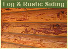 Log Siding for your Log Home